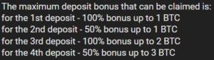 1xbit bonuses