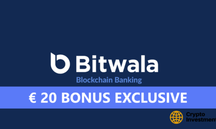 Bitwala Bonus for Registration