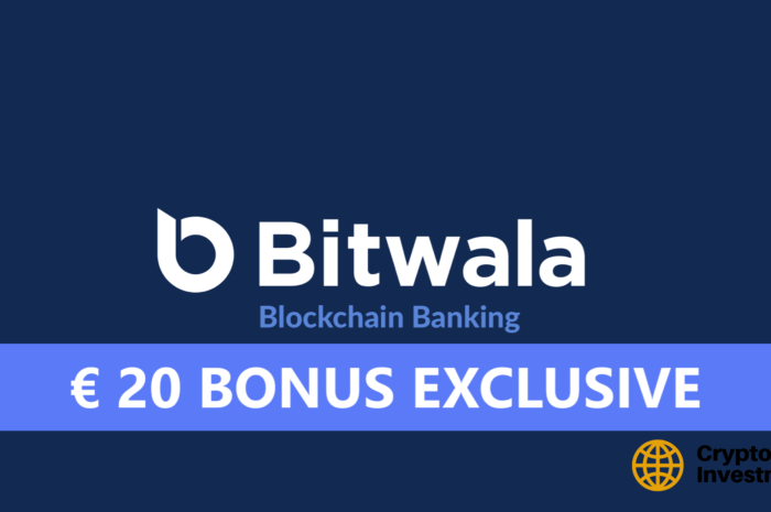 Bitwala Sign Up Bonus: € 20 Starting Credit (09/2020) [EXCLUSIVE]