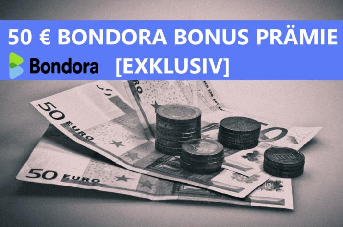 Bondora Bonus Prämie 2021: 50 Euro Startguthaben (06/2021)