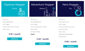 cryptohopper pricing