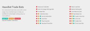 Trading bot haasbot