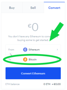 Coinbase Coins Conversion