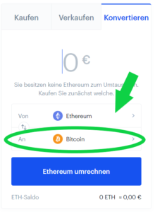 Coinbase Eos in Bitcoin