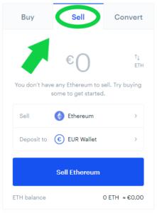 Coinbase sell coins