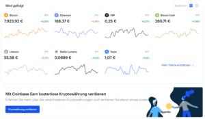 Coinbase Kryptowährung konvertieren