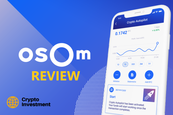 OSOM Finance: Automated Bitcoin Trading with Artificial Intelligence