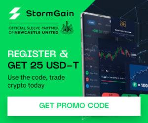 StormGain Bonus