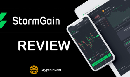 StormGain review titel