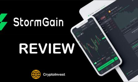 StormGain review titel