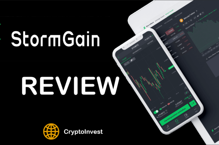 StormGain Review – Our experience 2020 with StormGain