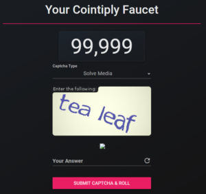 cointiply captcha
