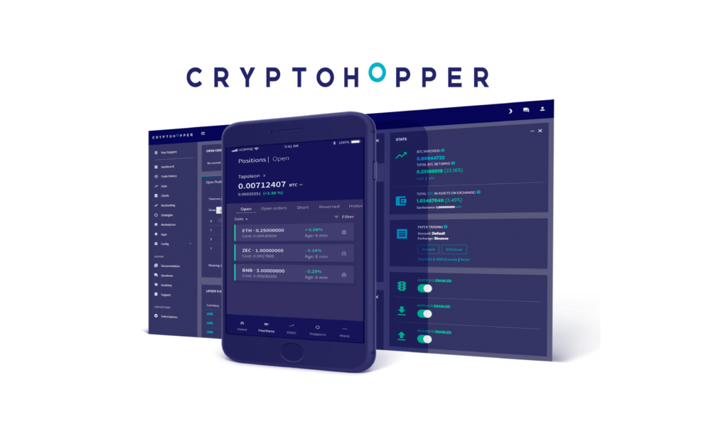 Cryptohopper settins in 2020