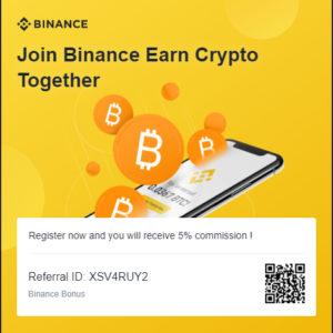 Binance invitation Code